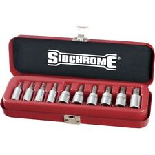 Sidchrome 10pce 1/4 & 3/8″ Drive Socket Set – Tru-Torque (TORX) - SCMT19107