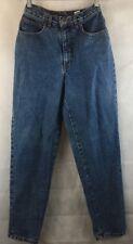 "Rio Denim Blue Jeans Tapared Leg Size 7 Cotton Inseam 29 Waist 24"""