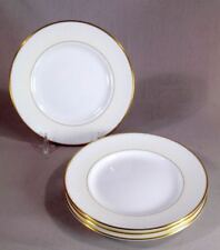 """Waterford LIsmore Gold Set of Four 6"""" Bread & Butter Plates  Free Shipping"""