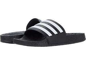 {FY8154} Men's adidas Adilette Boost Slides - Black  *NEW*