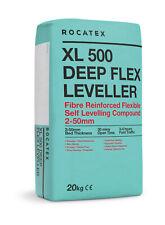 Latex Self Levelling Compound 40 Bags 25kg bags-Rocatex XL500 Deep Flex Leveller