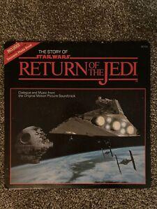 Star War Series:  The Story Of Return Of The Jedi - Vinyl LP - NMT!!!  W/insert