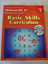 McGraw Hill Basic Skills Curriculum Grade 3 Student Workbook ISBN# 1577689232