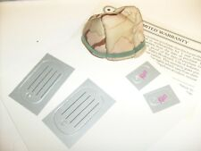 1992 Barbie Doll Ken Army Stars 'n Stripes Cloth Helmet and dog tags /  j3