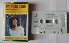 PATRICIA CARLI (K7 AUDIO) SES PLUS GRANDS SUCCES - 12 titres