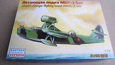 Beriev Mbr-2bis (Be-2) Soviet flying boat Wwii 1/72 Eastern Express # 72131