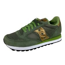 E44 sneakers donna SAUCONY JAZZ green shoes woman