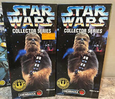 """2 Chewbacca 1996 Star Wars Kenner 12"""" Collector Series Action Figures"""