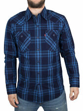 Levi's Long Sleeve Cotton Check Casual Shirts & Tops for Men