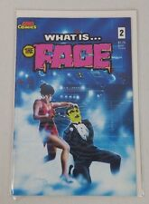 Ace Comics 1987  WHAT IS...THE FACE? #1 Black and White Comics