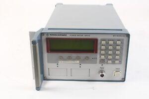 Rohde & Schwarz NRVD Channel RF Power Meter 857.8008.02 DC to 40 GHz