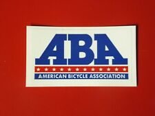 ABA - American Bicycle Association Decal - BMX Old School - Racing Race