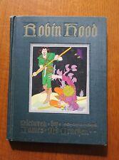 ROBIN HOOD by ULA WATERHOUSE ECHOLS - ILLUS by JAMES McCRACKEN co 1942