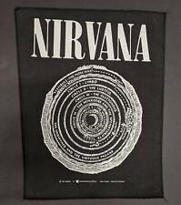Vintage Nirvana Back Patch