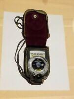 Vintage Gossen Luna Pro Light Meter & Case, Photography Collectible