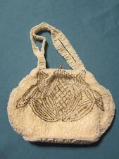 Vintage Beaded Evening Purse.  1950s made in Belgium.