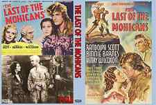 LAST OF THE MOHICANS 1936 Randolph Scott
