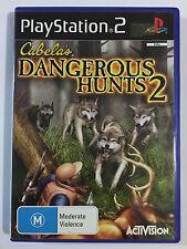 Cabelas Dangerous hunts 2 ps2 playstation 2 game