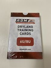 New Adm Usa Hockey Dryland Training Cards 6U / 8U Youth Sealed Nip
