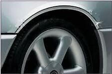 CHROME Wheel Arch Arches Guard Protector Moulding fits SUBARU