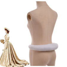 Blessume Elizabethan Bum Roll Party Gowns Tudor Medieval White Bustle