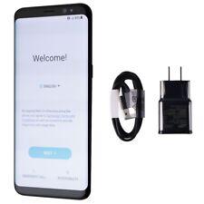 Samsung Galaxy S8 Smartphone (SM-G950U) GSM + CDMA - 64GB / Midnight Black