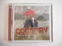 2 CD BEST OF COUNTRY : JOHNNY CASH, PATSY CLINE, LAINE...    CD NEUF ! PORT 0€