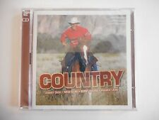 2 CD BEST OF COUNTRY : JOHNNY CASH, PATSY CLINE, LAINE... || CD NEUF ! PORT 0€
