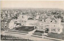 Birds Eye View of Residence Section on Capitol Hill in Seattle WA Postcard