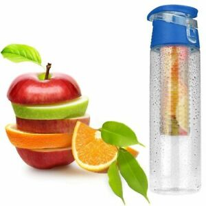 Water Bottle Health Fruit Infusion 800ML Sports Bicycle Camping Summer Tourism