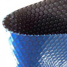 Solarplane 220x150cm 130my Solarfolie Solarheizung Poolheizung Schwarz/Blau