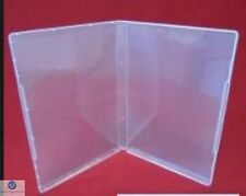 50 Ultra Transparente Dvd Estilo Multi almacenamiento Funda 14mm Vacía Sin Portadisco Aaa