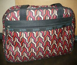 LE SPORT SAC Small Tote Bag ~ Retro Diane von Furstenberg Geometric Print