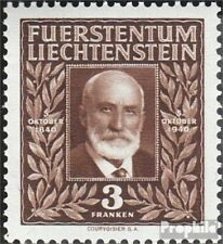 Liechtenstein 191 neuf avec gomme originale 1940 Anniversaire de princes