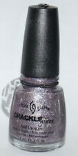China Glaze CRACKLE Nail Lacquer Polish LATTICED LILAC .5 oz **
