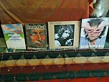 BOB DYLAN - EARLS COURT 1978,LP/VINYL AND PROGRAMS + BLACKBUSHE CONCERT PROGRAM