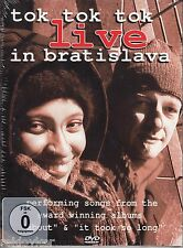 Tok Tok Tok / Live in Bratislava(DVD, NEU!)