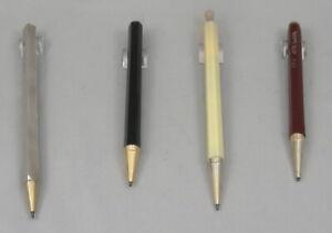 4 Vintage Stylocraft Stik Mini Magnetic 1.1mm Pencils - 1950's - Four Colors-USA