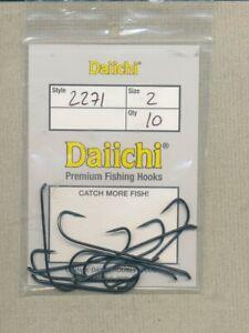 Daiichi 2271 - Dee Salmon Streamer 6XL - size 02 - quantity 10
