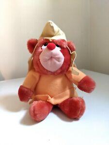"Rare Vintage Disney 1985 Applause Gummi Bears Plush 7"" Stuffed Toy Gruffi Gummi"
