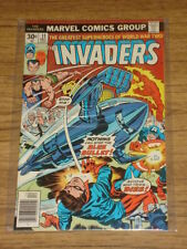 INVADERS #11 VF (3.0) MARVEL COMICS