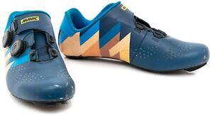 Mavic Cosmic Pro LTD Izoard Road Bike Shoes EU 43.3 US Men 9.5 Carbon 3 Bolt TdF