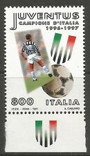 ITALY. 1997. National Football Champions Commem. SG: 2434. Mint Never Hinged