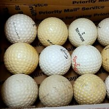 DEALS OF THE WEEK 15-Ball Lot VINTAGE Golf BALLS Old COLLECTIBLE Used Lot4