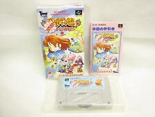 MADO MONOGATARI Hanamaru Dai Yochienji Super Famicom Nintendo Japan Game sf