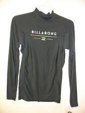 Billabong Men's L/S Rashguard ALL DAY - BK1 - XLarge - NWT