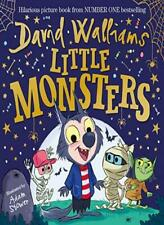Little Monsters From Number One Sunday Times by David Walliams Hardcover Bo