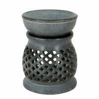 Soapstone Wax Melt Warmer Diffuser Oil Burner Fragrances Aroma Tealight Holders