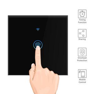 Glas Touch Lichtschalter Touchcreen Schalter WiFi APP Alexa echo Google Wlan DE