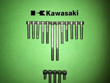 Kawasaki KC100 100cc SS Stainless Engine Cover Allen Screw Kit New  UK FREEPOST